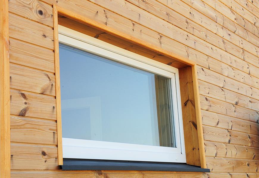 Тёплое одностворчатое окно для бани, двухкамерный стеклопакет